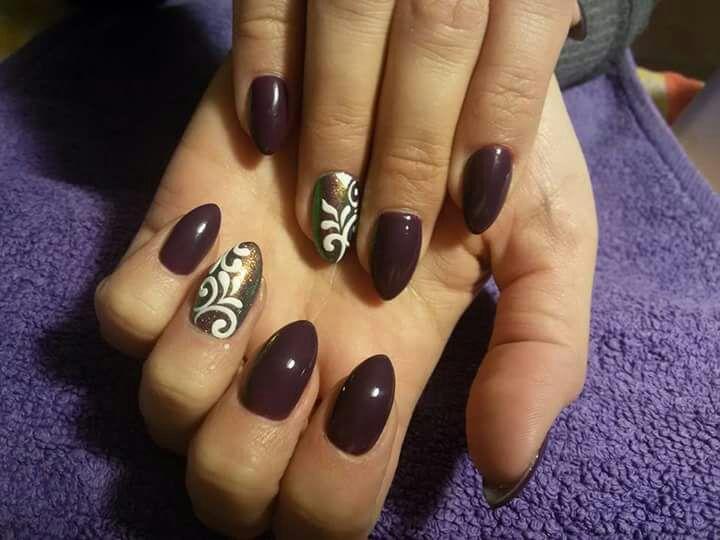 katowice paznokcie ombre hybryda
